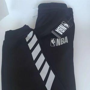 NWT Black Kids' NBA Jogger Sweatpants L (14/16)